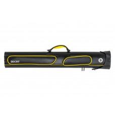 "Billiard Cue Hard Case ""Bear"", black-yellow, 2/4, 86 cm"